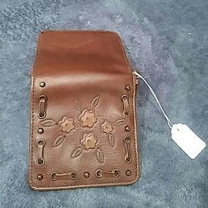unknown Bags - Vintage  Brown Leather Mini Wallet